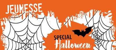image de couverture de Halloween à la médiathèque