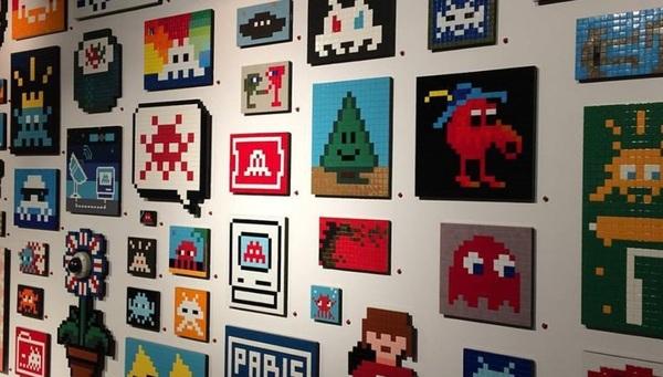 """image de couverture de Stage """"Qixel Art"""" créer à la manière d'Invader"""