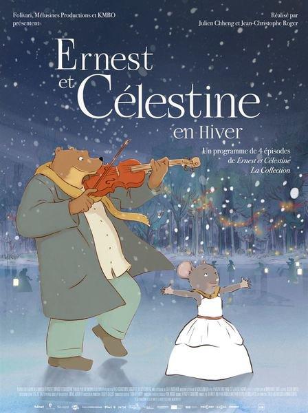 image de couverture de Ernest et Célestine en hiver