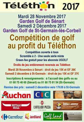 image de couverture de Garden Golf de St Germain - Compétition au profit du Téléthon