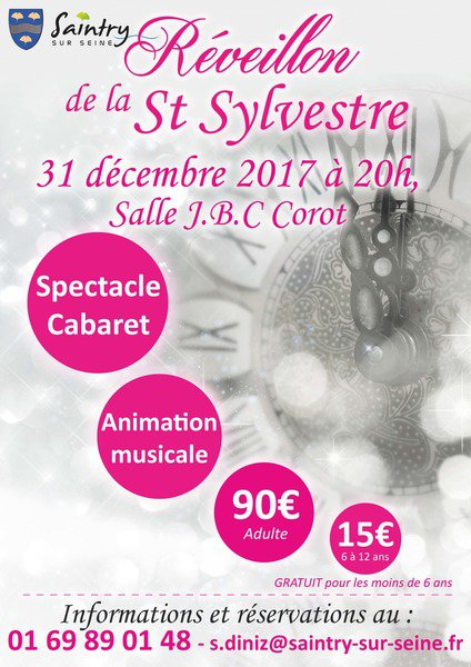 image de couverture de Réveillon de la Saint-Sylvestre à Saintry-sur-Seine