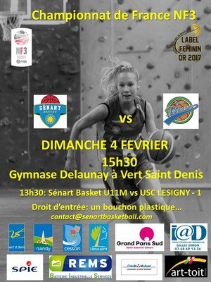 Match Sénart/Palaiseau