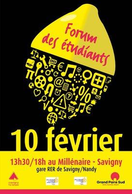 Affiche Forum des étudiants