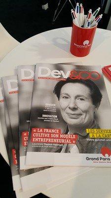 Le journal DEV&CO présenté au MIPIM 2018