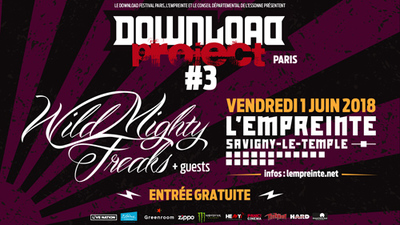 image de couverture de Download Project #3 : Wild Mighty Freaks / Nakht / U-Bilam