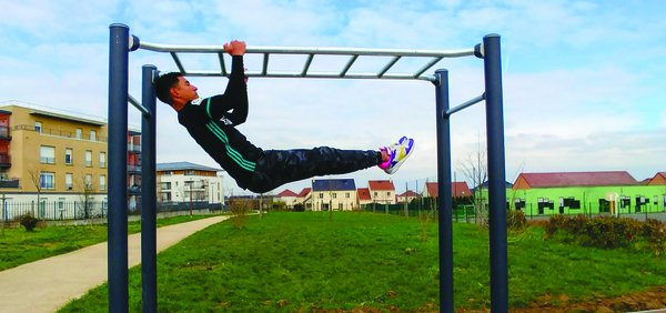 image de couverture de Lancement de l'aire de Street Workout