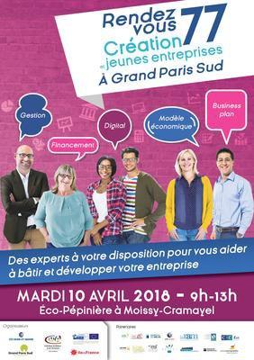 Rendez-vous de la création d'entreprises à Moissy-Cramayel (77)
