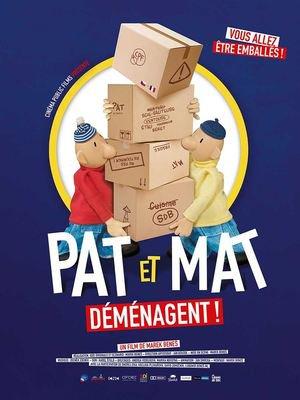 image de couverture de Pat et Mat déménagent