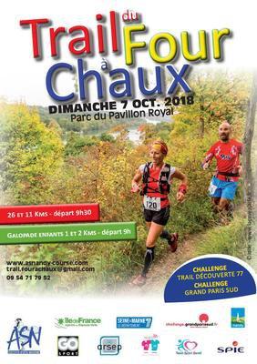 image de couverture de Trail du Four à Chaux 2018 - Challenge Grand Paris Sud