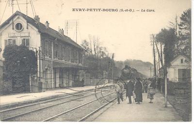 image de couverture de Gare d'Evry - Val de Seine