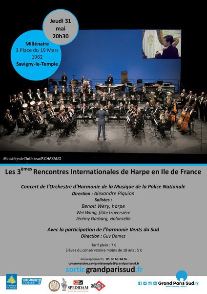 Affiche orchestre police nationale