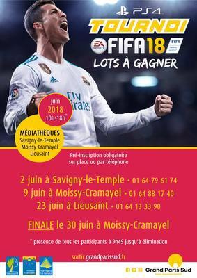 image de couverture de Tournoi Fifa18 sur PS4