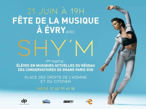 image de couverture de Fête de la Musique à Évry avec Shy'm