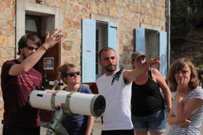 """image de couverture de Stage découverte de l'astronomie """"Première Etoile"""""""