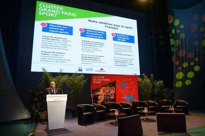 Lancement Cluster Grand Paris Sport
