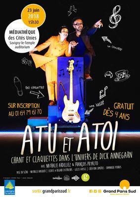"""image de couverture de Spectacle """"Atu et Atoi"""" par la Compagnie dans ses Pieds"""