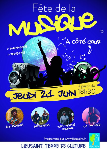 image de couverture de Fête de la musique à Lieusaint !