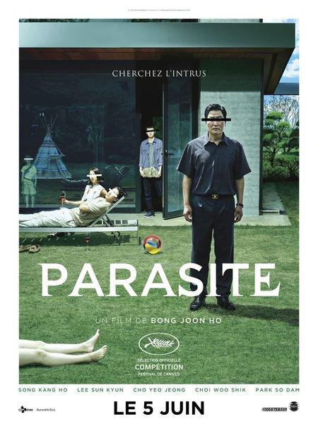 Parasite affiche
