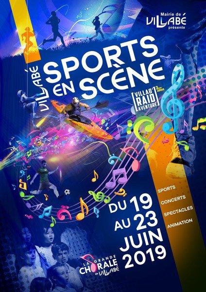 Affiche sports scene 05