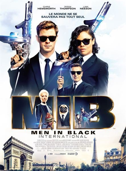 Men in black international affiche