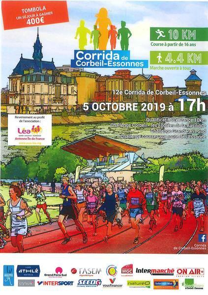 Affiche corrida 2019