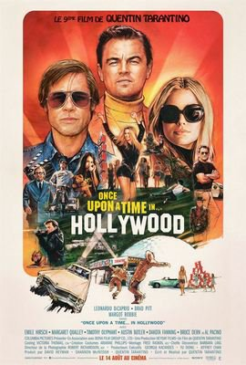 Once upon a time… in Hollywood affiche.jpg